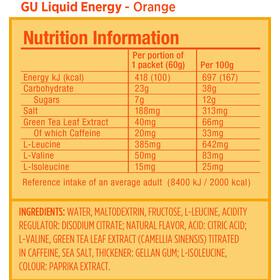 GU Energy Gel liquido, confezione di prova 6x60g, Mixed